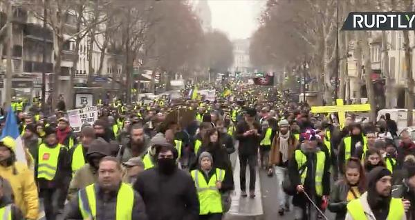 One Million Expected to Descend on the Streets of France, Is Revolution Nigh?