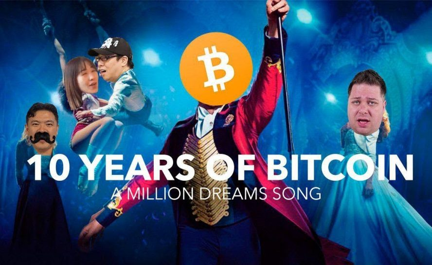 'A Million Dreams' – Bitcoiners Sing for BTC's 10th Birthday
