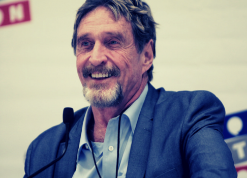 After Not Filing Taxes for 8 Years, John McAfee Claims IRS After Him For Cryptocurrencies
