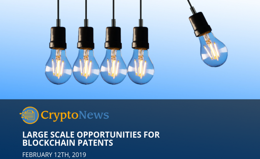 Large Scale Opportunities for Blockchain Patents