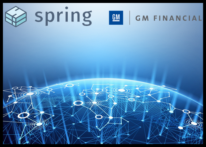 GM Financial Partners Spring Labs To Use Blockchain