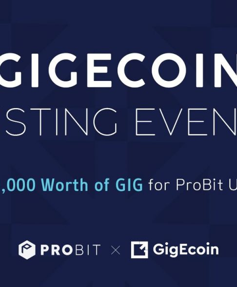 ProBit Exchange will list GigEcoin March 25 ⋆ ZyCrypto
