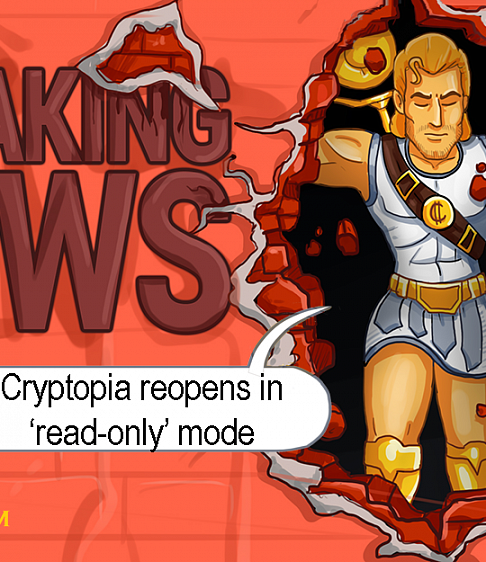 Cryptopia Reopens in 'Read-Only' Mode, Crypto Community Excited